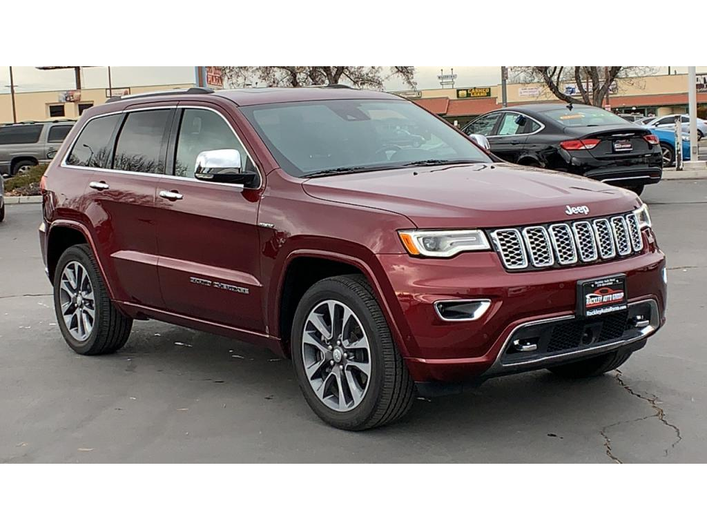 Jeep Grand Cherokee Overland >> Pre Owned 2017 Jeep Grand Cherokee Overland 4wd