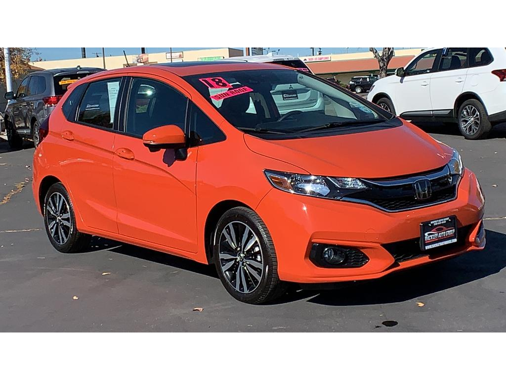 Honda Fit Ex >> Pre Owned 2018 Honda Fit Ex L With Navigation