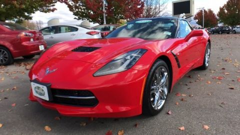 Pre-Owned 2017 Chevrolet Corvette Stingray RWD Coupe