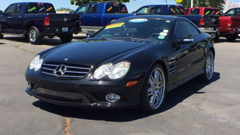 Pre-Owned 2008 Mercedes-Benz SL55 AMG® AMG® RWD Convertible